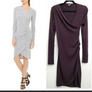 Aritzia Wilfred Klum Long Sleeve Dress